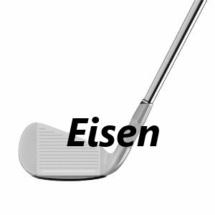 Golfschläger-Arten - Eisen