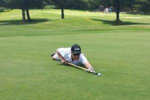 Putten-Technik Golf