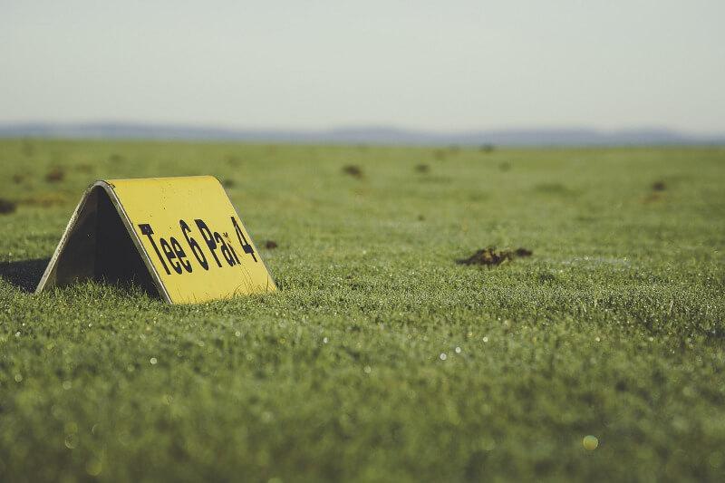 Schlagweiten Golf