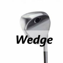 Golfschläger-Arten - Wedge