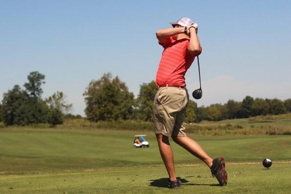 Driver Golfschwung