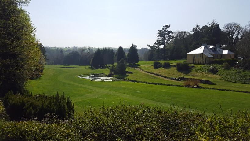 Das Clubhaus des Lisselan Golf Club