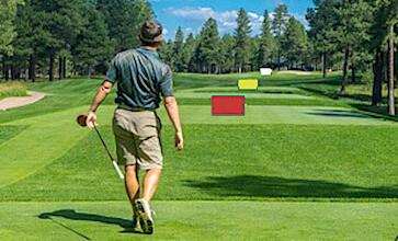 Weiten Golfschläger