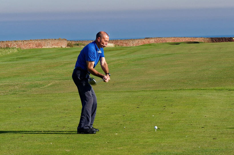 Golf - Schlägerkopfgeschwindigkeit