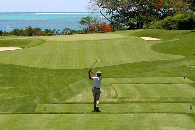Golf Ausrichten Zielen