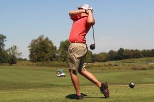 Golfschwung - Golfschlag