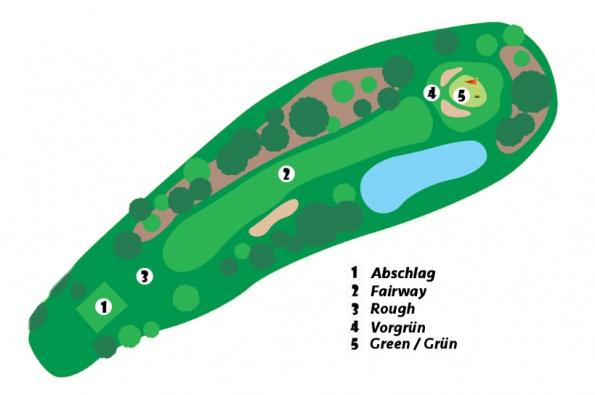 Golfplatz-Rough